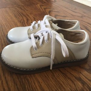 Footmates Leather Saddle Oxford Shoes Cheer 8 Sand